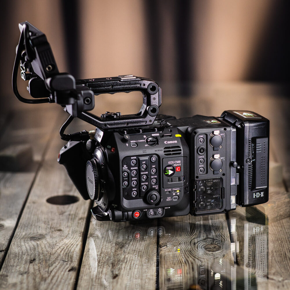 Hyr Canon C500 MKII med extention unit 2