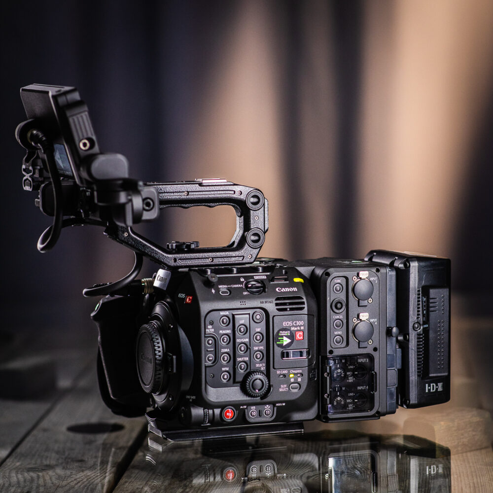 Hyr Canon C300MKIII med extention unit 2